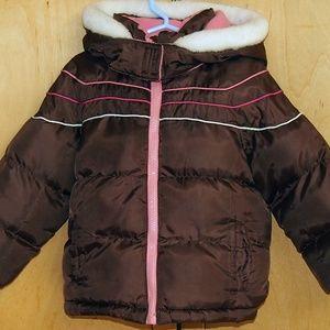 OshKosh girl's puffer jacket size 3T